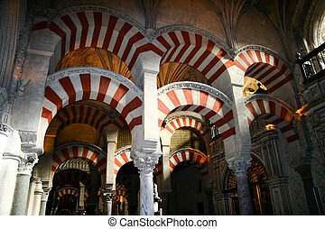 Arches of the Mezquita