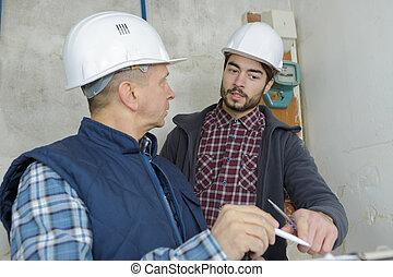 architect, bouwsector, supervisor, bouwterrein