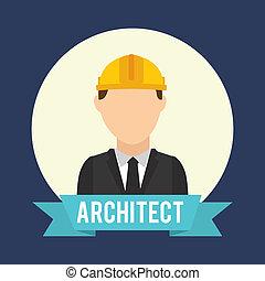 architect design - architect graphic design , vector...