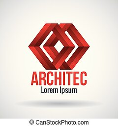 architect emblem business icon