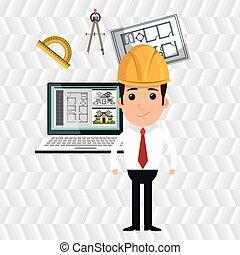 architect laptop tools job
