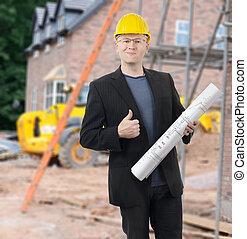 Architect on site