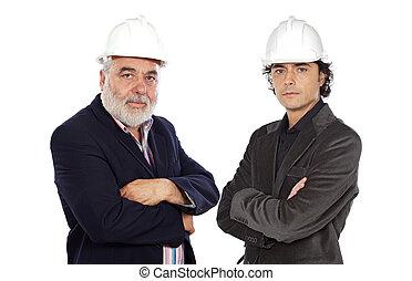 architect, paar