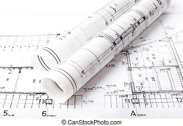 Tracing paper roll images and stock photos 351 tracing paper roll architect project drawing blueprint malvernweather