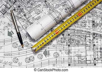 architect, werkplaats