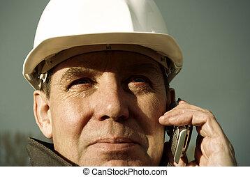 architecte, cellule-téléphone