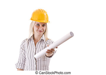 architecte, femme