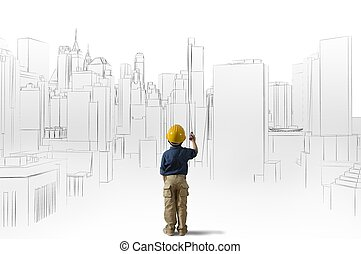 architecte, jeune, ambition