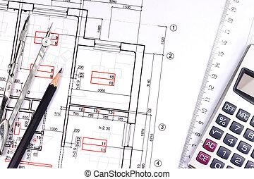 Vendange architecte outils travail outils for Outils architecte