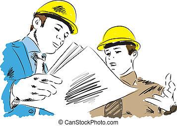 architectes, illustration