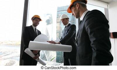 architectes, plan