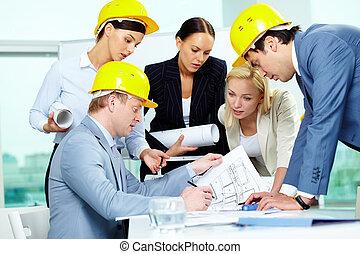 architectes, travail