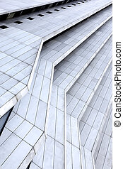 Architectonic background - Office building - Abstract...