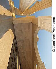 Architectonic verticals