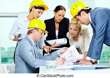 Architects at work