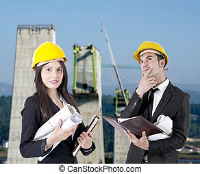 architects at work, professions and architecture