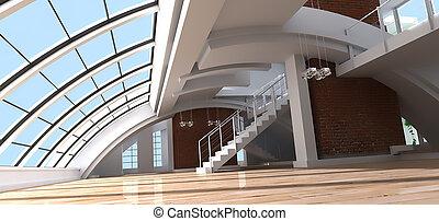 Architect's loft - Luxurious view of a loft