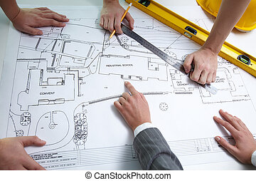 Architect?s teamwork