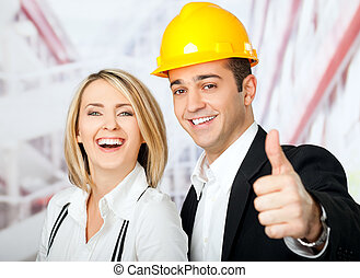 architects thumbs up