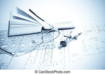 architecturaal blueprints