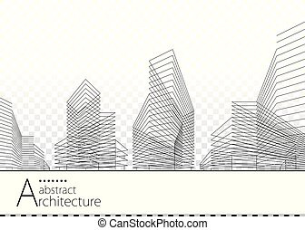 Architectural Abstract building Design