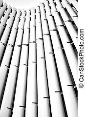 Architectural abstract forms