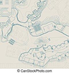 Architectural blueprint examination of engineering drawing architectural and engineering blueprint malvernweather Images