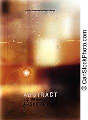 architectural blurred background