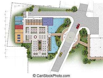 architectural building plans