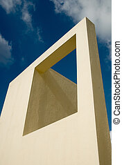 Architectural structure against the sky