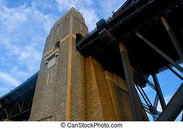 Architectural Detail Harbour bridge ,Sydney Australia