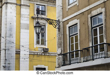 Architectural detail in Lisbon