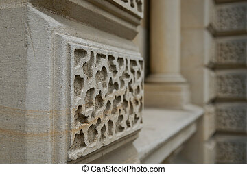 Architectural detail in stone.