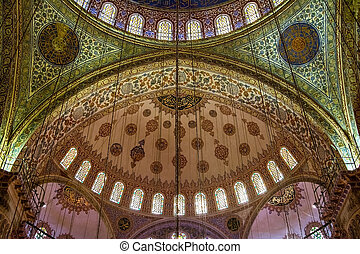 Architectural detail of a mosque, Istanbul