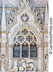 Architectural detail of Basilica of Saint Mark (Venice)