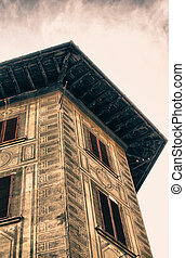 Architectural Detail of Florence, Tuscany - Architectural...