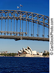 Architectural Detail of Sydney, New South Wales, Australia