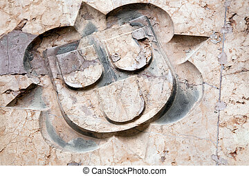 Architectural Detail on Stone