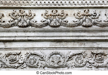 architectural details, Istanbul