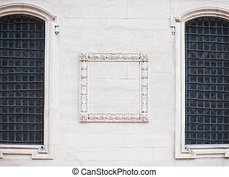 architectural details of a historic building