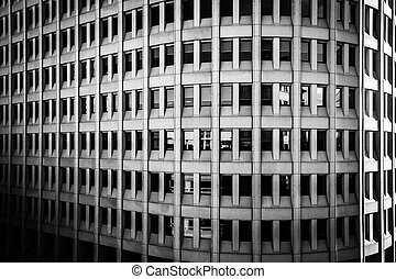 Architectural details of the Brandywine Building taken in ...