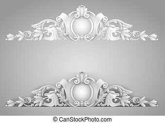 Architectural element sandrik for a building, arches,...