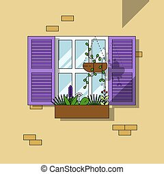Architectural element Window background