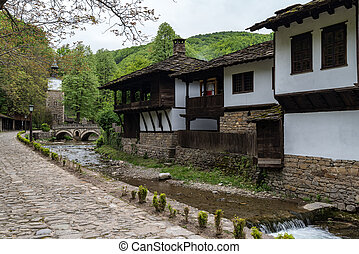 """Architectural ethnographic complex """"Etar"""", the first one of this type in Bulgaria. It presents the Bulgarian customs, culture and craftsmanship from the period of Ottoman Empire"""