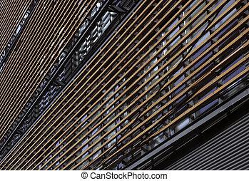 architectural, façade, détail