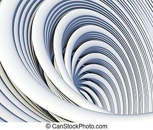 Architectural geometric background. Creative conceptual...