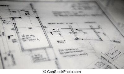 architectural, papiers