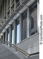 Architectural Detail of Modern Commercial Building