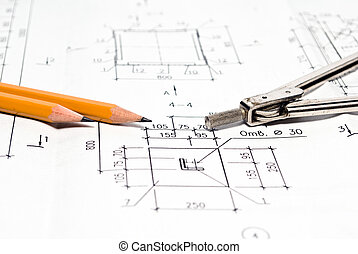 Architectural plan and tools