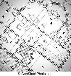 Architectural Plan - Part of architectural project